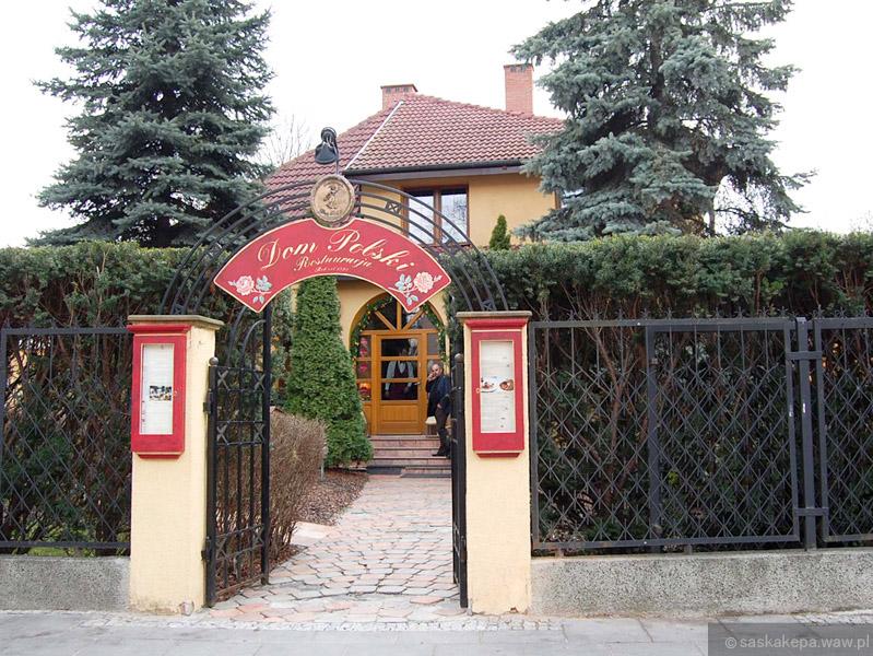 Restauracja Dom Polski Ul Francuska 11 Saska Kępa Praga