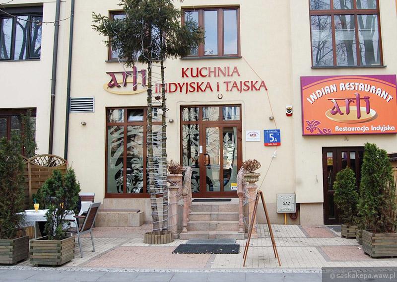 Restauracja Indyjska Arti Ul Francuska 5a Saska Kepa Praga