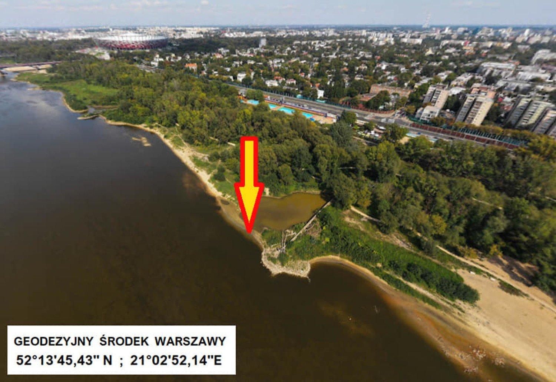 Wiemy, gdzie jest środek Warszawy. Wyznaczono też środek województwa mazowieckiego