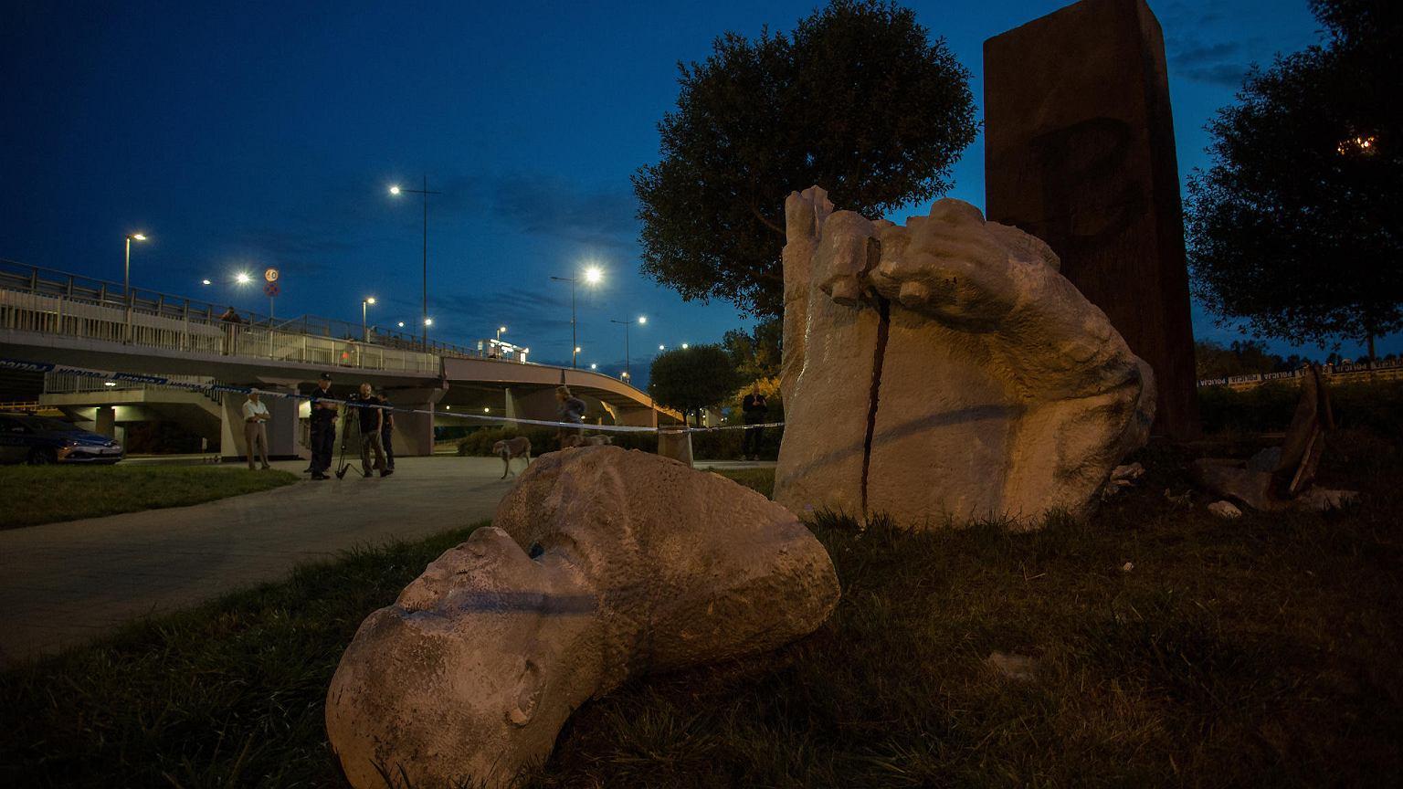 Stołeczny konserwator: pomnik Zygmunta Berlinga nie może zostać odbudowany