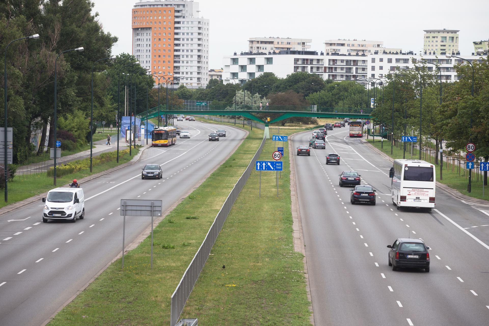 Kilka lat bez Trasy Łazienkowskiej. Zobacz co planują drogowcy na 2020 rok