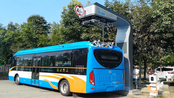 News Charging Change for the Future Bus