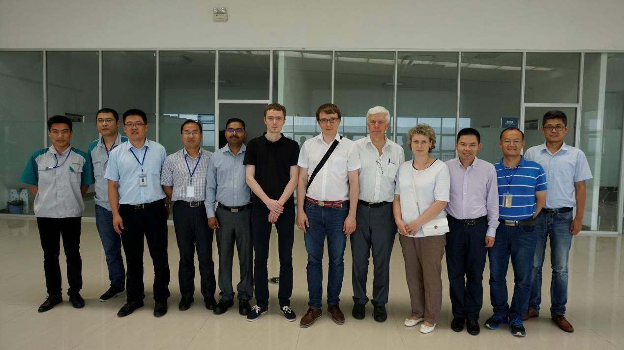 News Group Photo of the Audit and TGOOD Teams