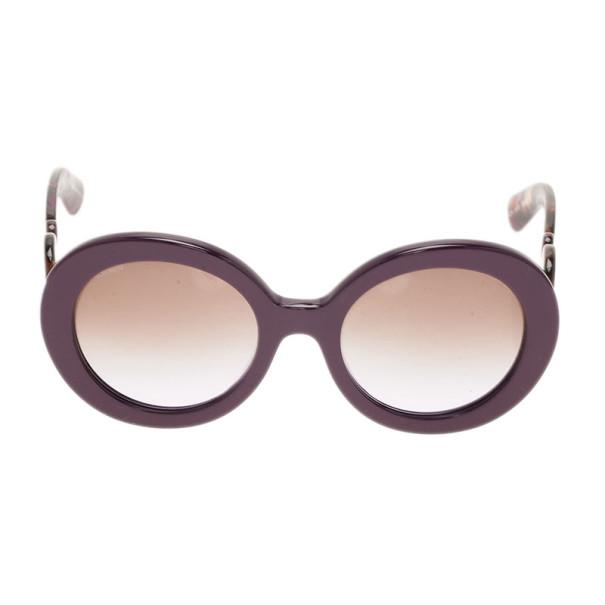 b7b3aabbe24d LC - Buy   Sell - Prada Purple Round Baroque Sunglasses