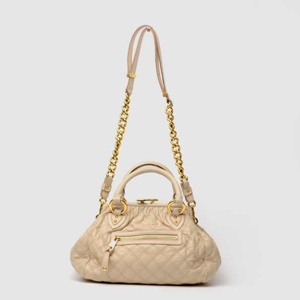 Cream Marc Jacobs Stam Satchel, Used from Dealer