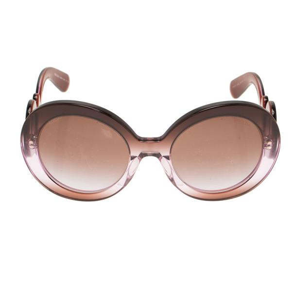Fake Prada  baroque  Round Sunglasses   David Simchi-Levi 4fe34468d1