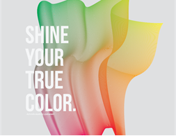 Shine your true color.