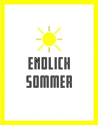 «ENDLICH SOMMER»