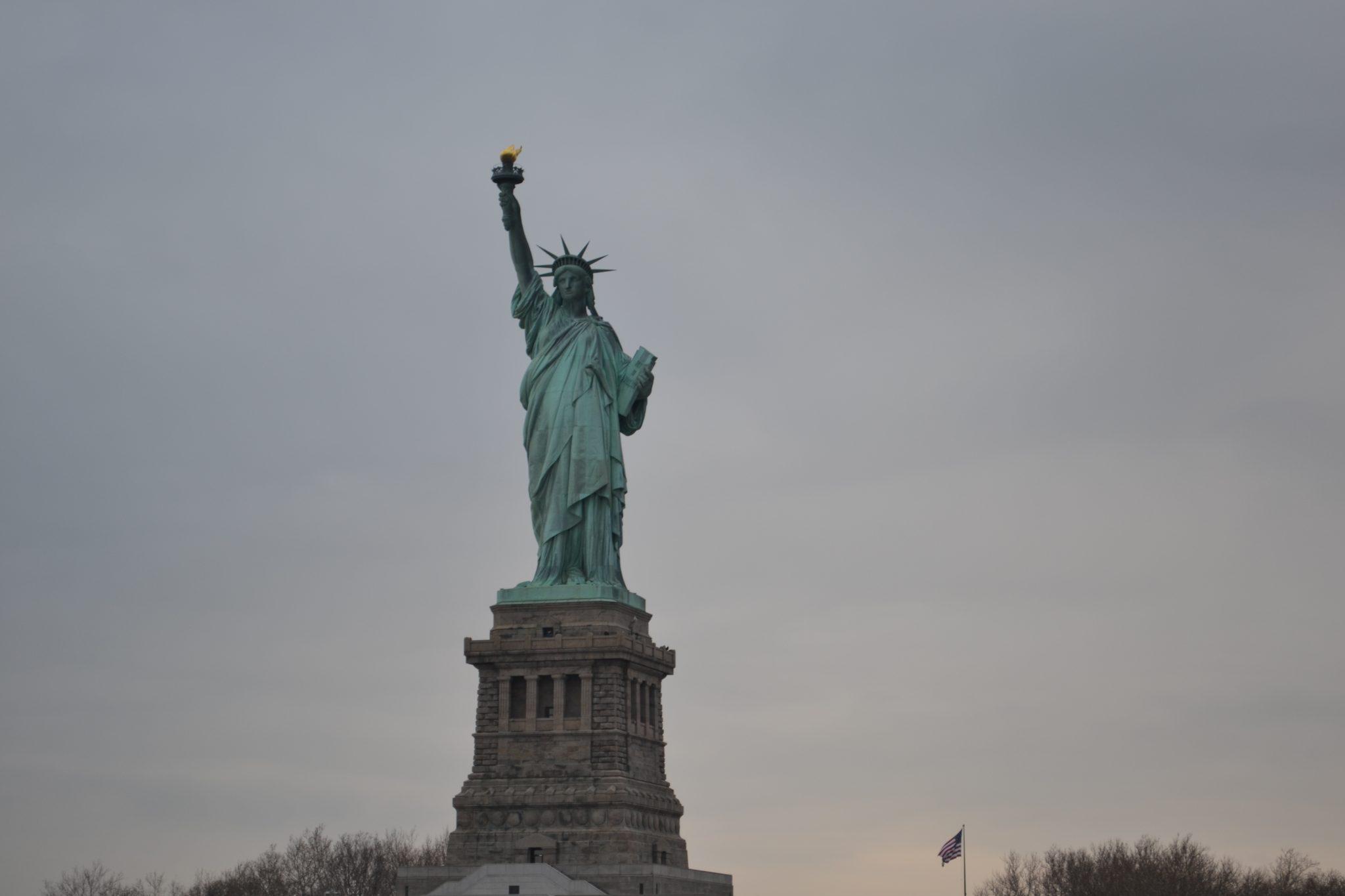 Eine Woche in New York: Ellis Island & Freiheitsstatue