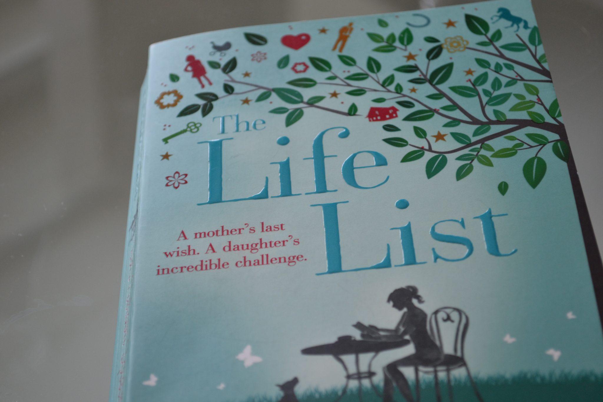 Books: The Life List | Lori Nelson Spielman