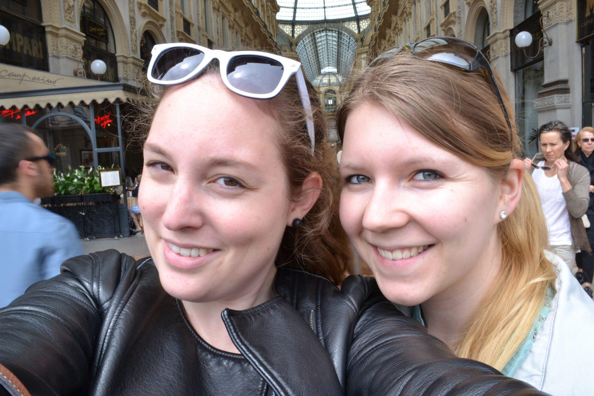 Mädels-Trip nach Mailand
