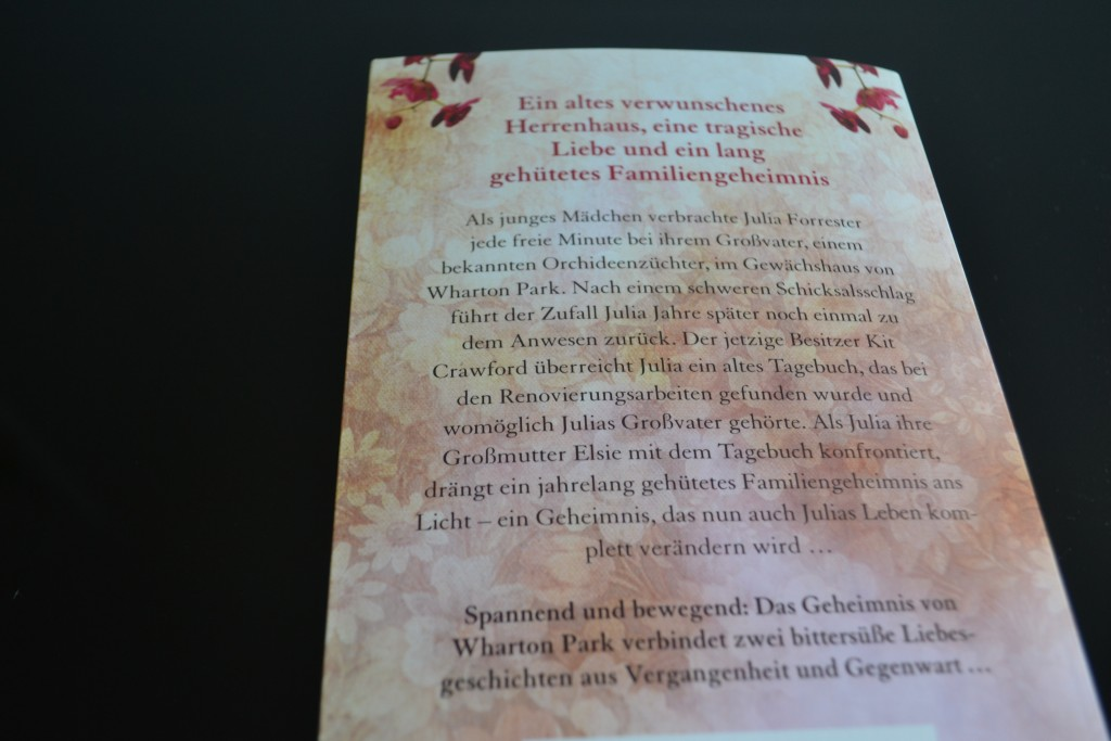 Books: Das Orchideenhaus | Lucinda Riley - DSC 0165 1024x683