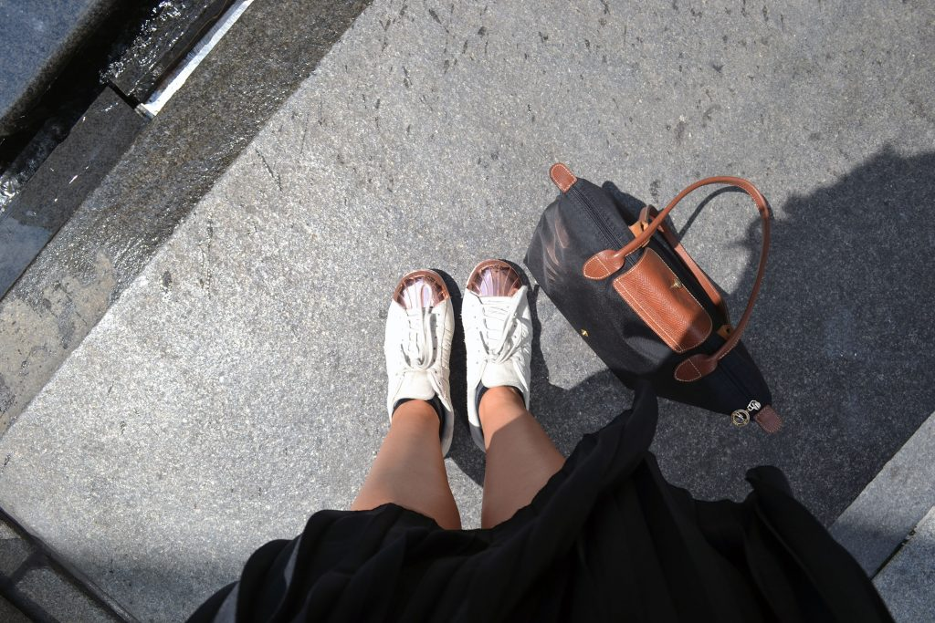 Outfit: Plisse Skirt & Adidas Superstar Metal Toes | New York - Plisse Rock 1 e1471745737144 1024x683