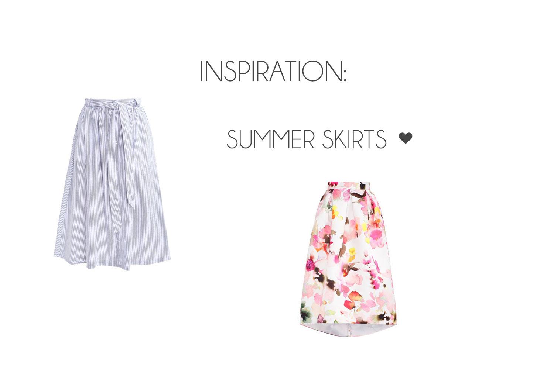 Inspiration: Summer Skirts ♥