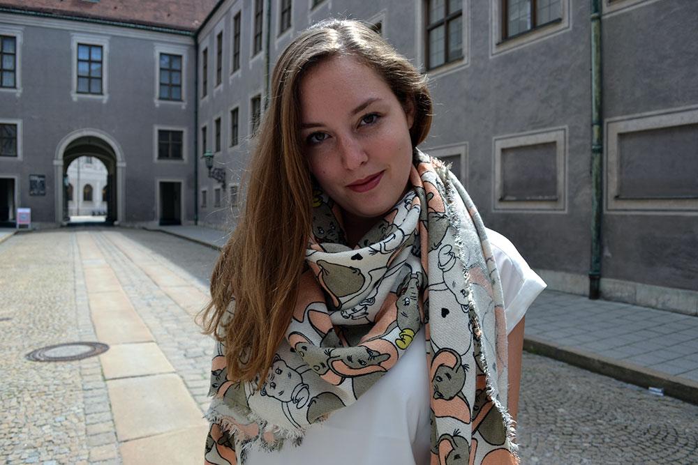 Outfit: Codello Original Dumbo Scarf & winactie // Munich