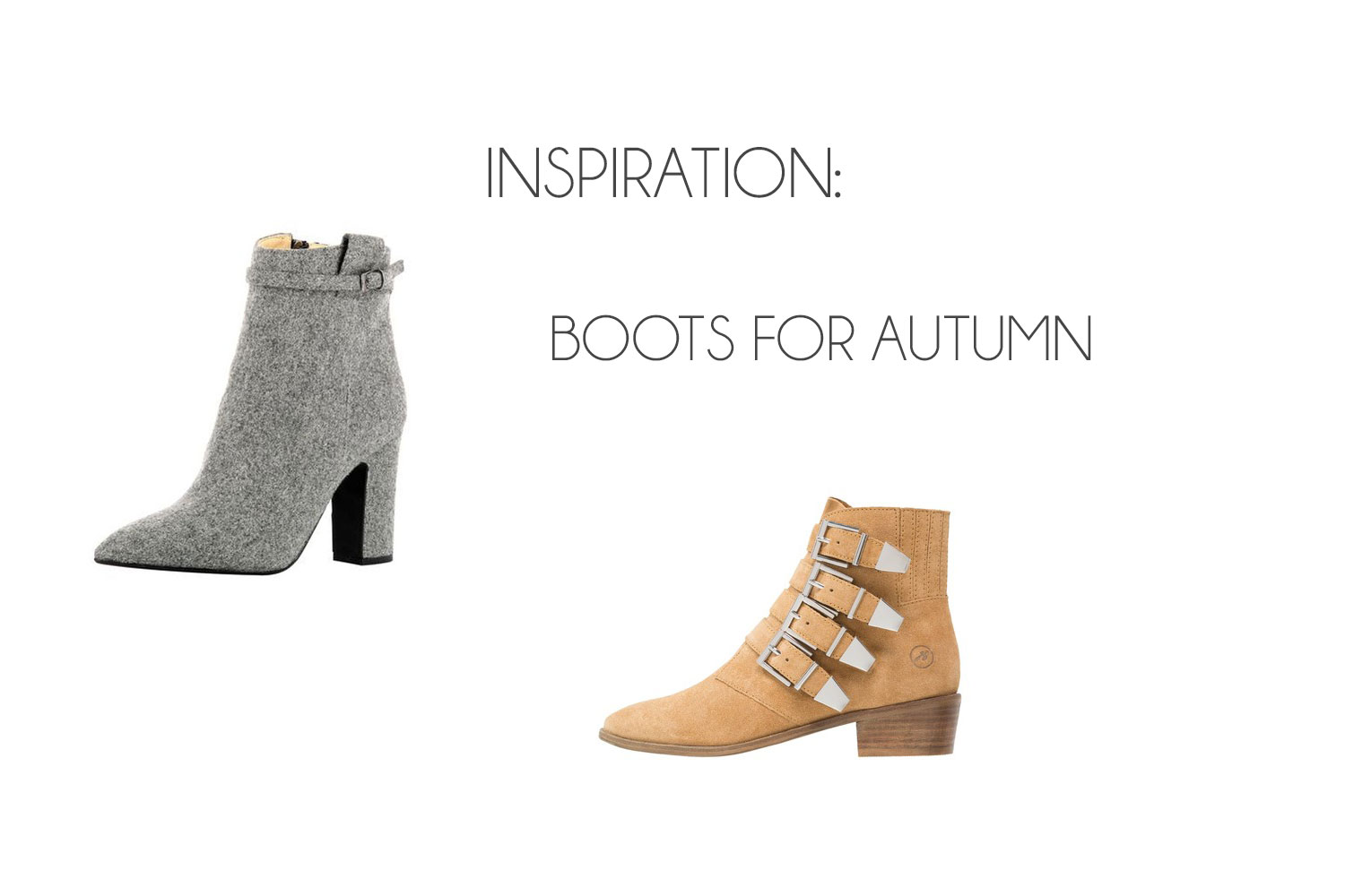 Inspiration: Boots for Autumn ♥