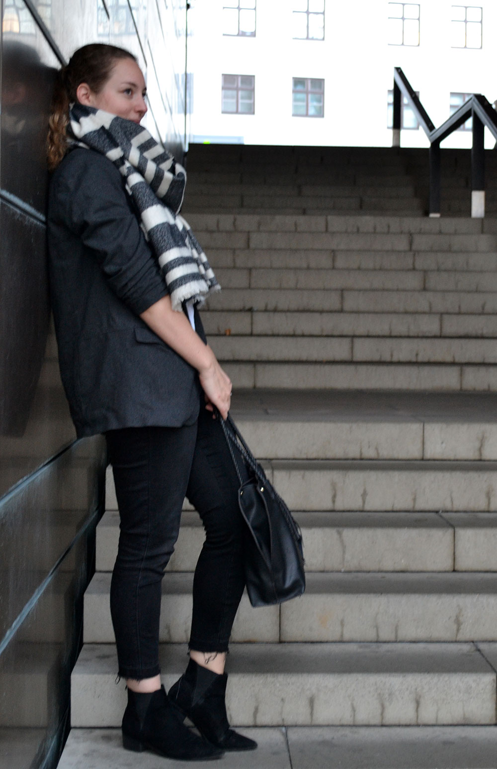 Outfit: Oversized Blazer // Levi's Shirt | Munich - Oversizedblazer 2