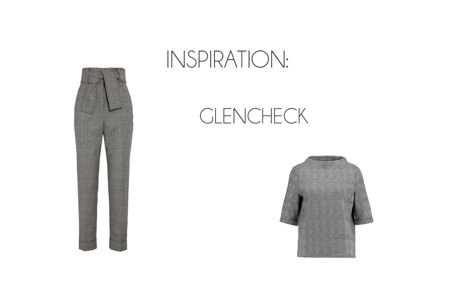 Inspiration: The Glencheck Trend