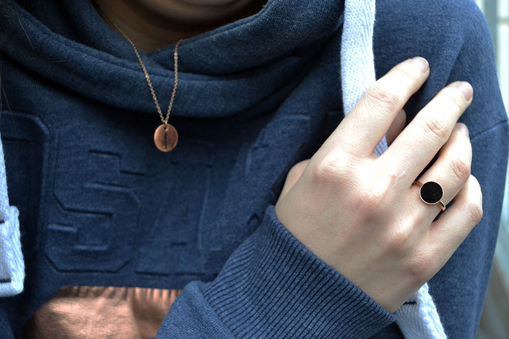Outfit: Hoodie & Rose Gold | Munich