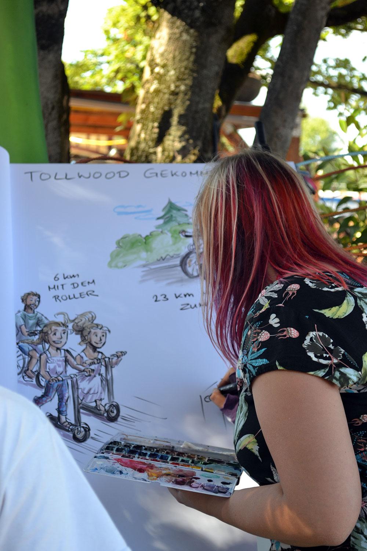 Travel Tip: Summer Tollwood in Munich - Tollwood 1
