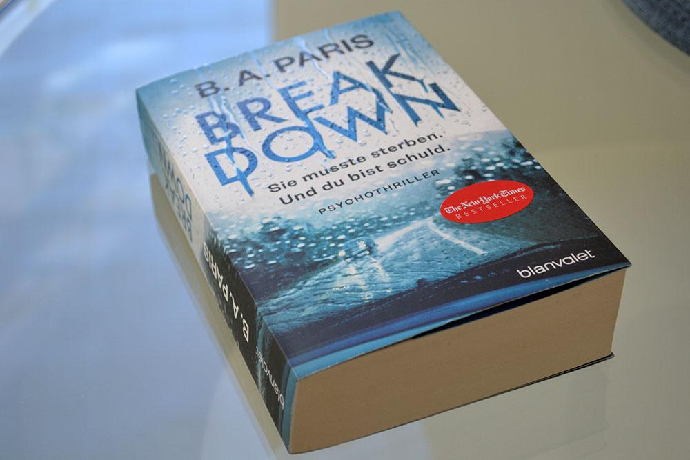 Books: Break Down   B.A. Paris