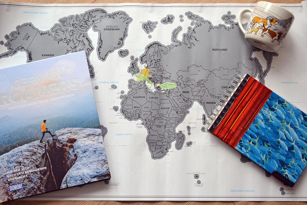 Inspiration: Geschenke für Weltenbummler