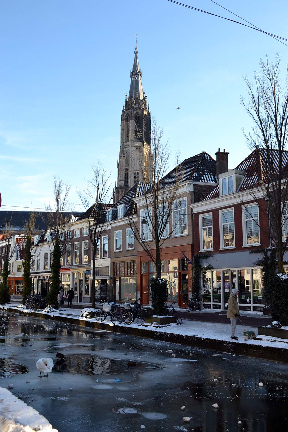 Travel Diary: Ein Wintertag in Delft | Niederlande - winter delft 3