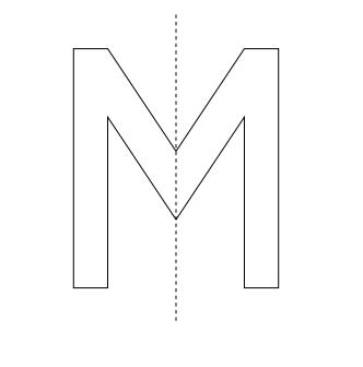 Achsensymmetrische Figuren in Klasse 5