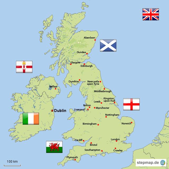 Karte Uk.Geschichte Englands