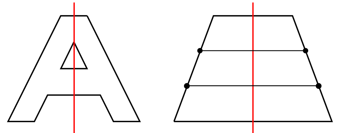 Achsensymmetrie Arbeitsblatt