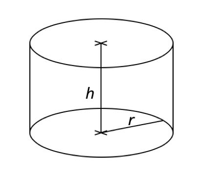 Volumen von Zylinder berechnen