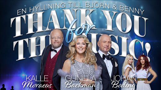 THANK YOU FOR THE MUSIC - En hyllning till B & B