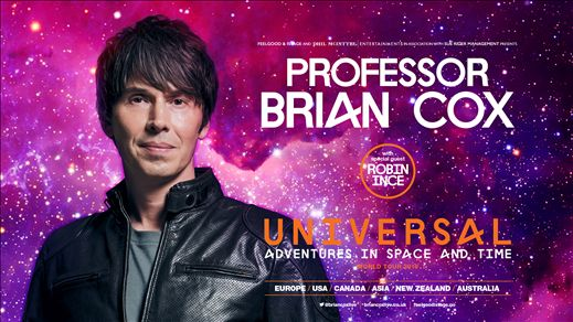 Professor Brian Cox-ADVENTURES IN SPACE & TIME