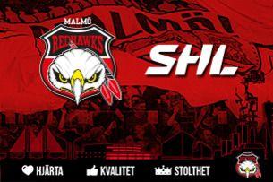 Malmö Redhawks - Oskarshamn - träningsmatch på isstadion