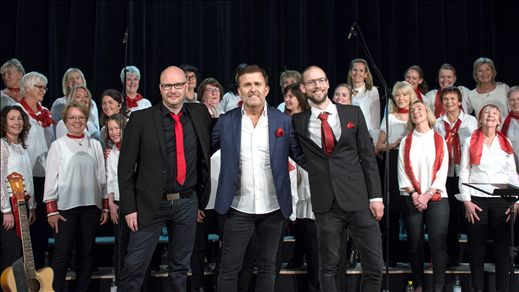 Jan Johansen och Körens Julkonsert