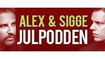JULPODDEN – Alex & Sigges nya live-podd