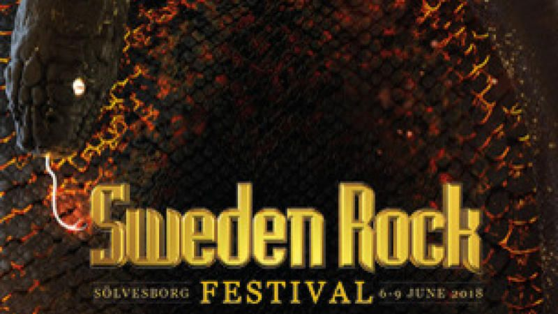 Sweden Rock Festival 2018 - 3-dagars Limiterad