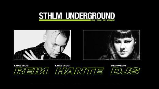 REIN - Hante - FutureRetro - Sthlm Underground