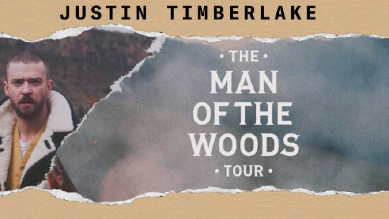 Justin Timberlake - The Man Of The Woods Tour -PLATINUM