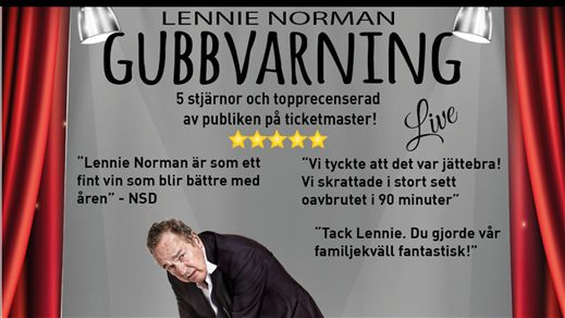 Lennie Norman – Gubbvarning Live