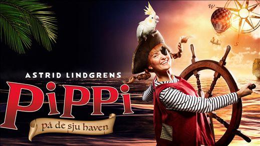 Astrid Lindgrens PIPPI på de sju haven 2019