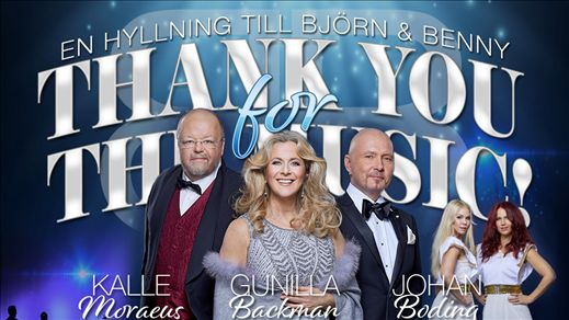THANK YOU FOR THE MUSIC - En hyllning till B & B