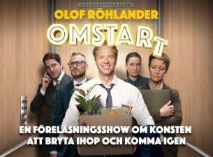 Olof Röhlander - Omstart