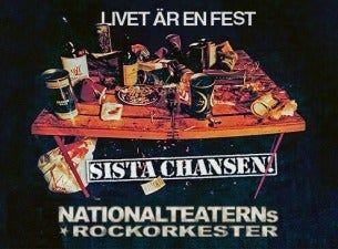 "Nationalteaterns Rockorkester Turné 2022 ""Sista chansen"""
