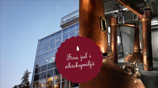 Jul i Mackmyra Whiskyby