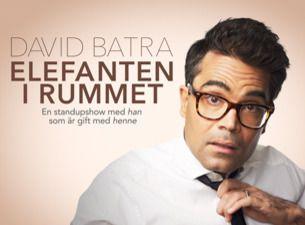 """DAVID BATRA """"Elefanten i rummet - han som är gift med henne"""""""