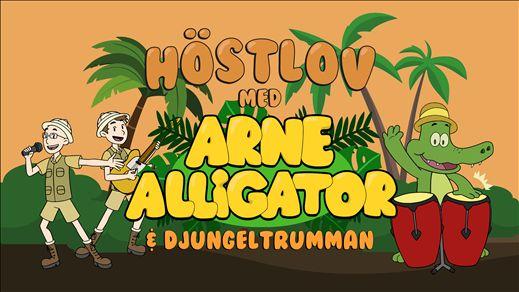 Arne Alligator & Djungeltrumman