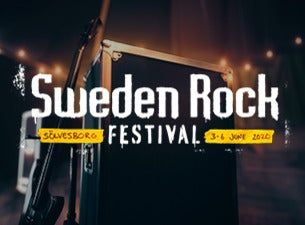 Sweden Rock Festival 2021 - 1-day ticket Saturday VIP