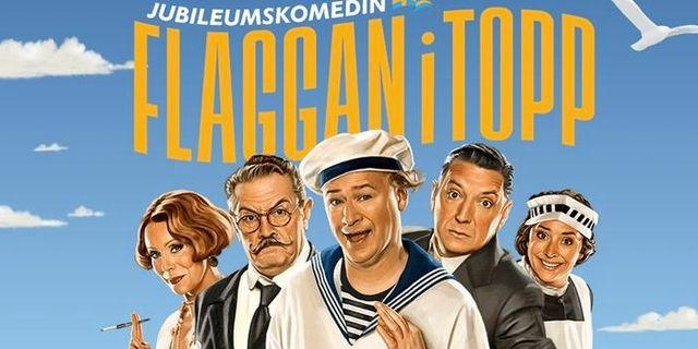 """Stort intresse för revyn """"Flaggan i topp"""" i Kalmar"""