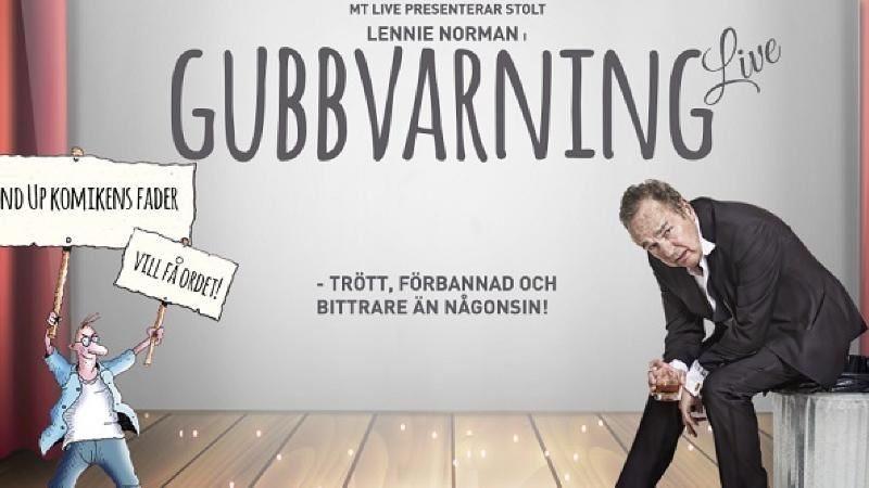 Lennie Norman - Gubbvarning Live!